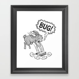 BUG! Framed Art Print