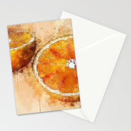 Mi Media Naranja Stationery Cards