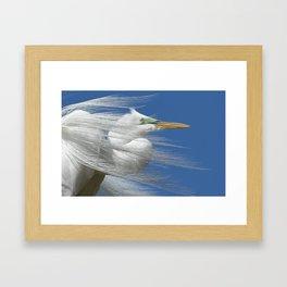 Restless Wind Framed Art Print