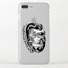 Lexy & Bruce - Swim beyond misconceptions! Clear iPhone Case