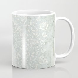 Powder Blue Mandala Coffee Mug