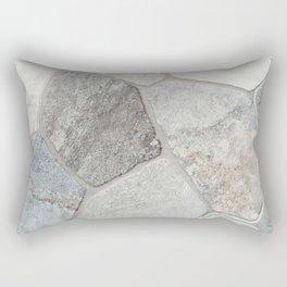 Natural Stone Wall Rectangular Pillow