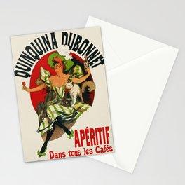 Vintage Aperitif Bar Decor Ad Stationery Cards