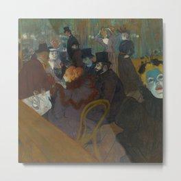 Henri de Toulouse-Lautrec - Salon Metal Print