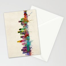 Los Angeles City Skyline Stationery Cards