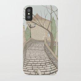 """""""LA PUENTE"""" de Alcañizo iPhone Case"""