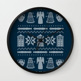 Who's Sweater Wall Clock