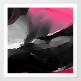 Digital Abstraction 013 Art Print