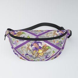 Peace, Plenty and Happiness Fool Fanny Pack