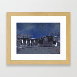 Usonian 3 Framed Art Print