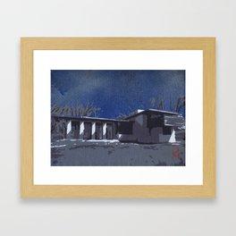 Usonian 3 Framed Art Print