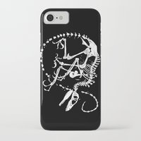 bouletcorp iPhone & iPod Cases featuring Deinonychus by Bouletcorp