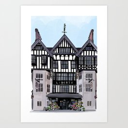 Liberty of London Art Print