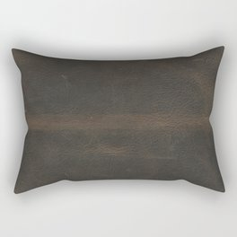 Vintage leather texture Rectangular Pillow