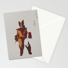 Logan Brown & Tan Stationery Cards