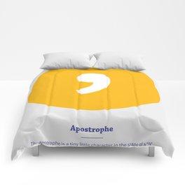 Apostrophe Comforters