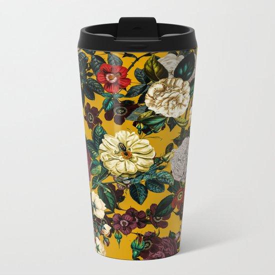 Exotic Garden V Metal Travel Mug