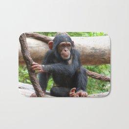 Chimpanzee_20150503_by_JAMFoto Bath Mat