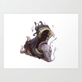 Treasure Chest Monster Art Print