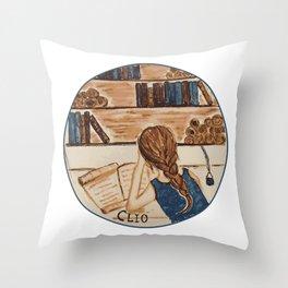 Clio Throw Pillow