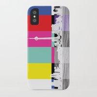 toronto iPhone & iPod Cases featuring Toronto by Shazia Ahmad