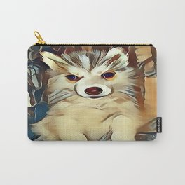 Siberian Husky Puppy Carry-All Pouch