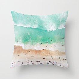 Beach Mood Throw Pillow