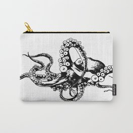 Octopus Sketch Carry-All Pouch