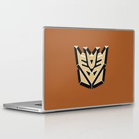 transformers Laptop & iPad Skins featuring Transformers by FilmsQuiz