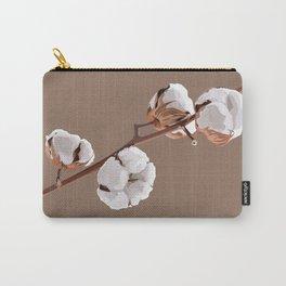 Scandinavian Cotton flower Carry-All Pouch