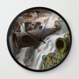 Dam Cannon Falls Wall Clock