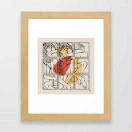 take me Framed Art Print