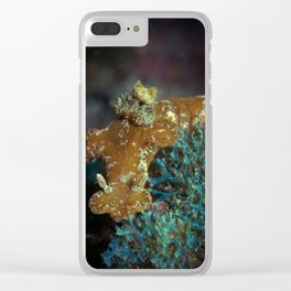 T-bar Nudibranch Clear iPhone Case
