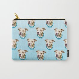 Pittie Print Carry-All Pouch