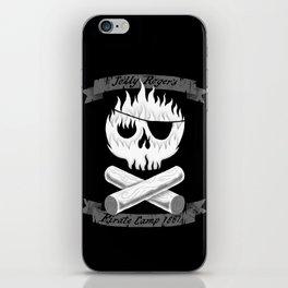 Pirate Camp iPhone Skin