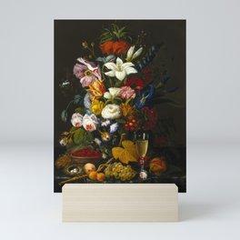 Victorian Bouquet by Severin Roesen Mini Art Print