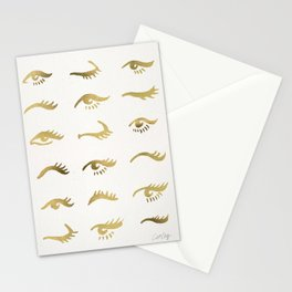 Mascara Envy – Gold Palette Stationery Cards