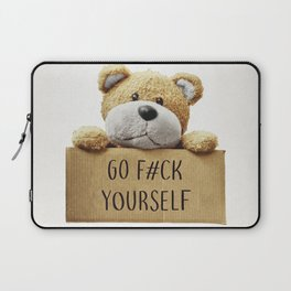 Go F#ck yourself with Laptop Sleeve