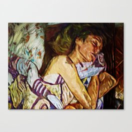 Dreaming Girl Canvas Print