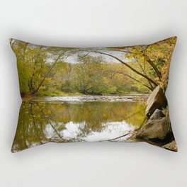 Autumn Creek Rectangular Pillow