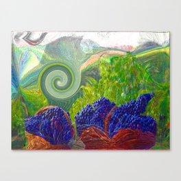 Uva -Art Digital Original- Canvas Print