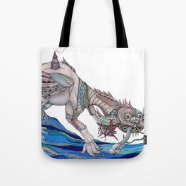 Architeuthis Shipwrekki Tote Bag