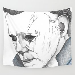 Happy Halloween, Michael Myers Portrait Wall Tapestry