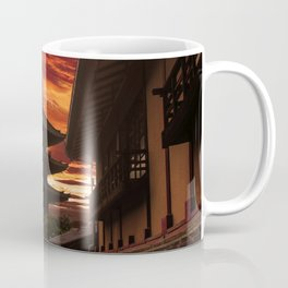 Kyoto sunset Coffee Mug