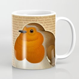 Chubby Erithacus Coffee Mug