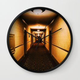 A hallway to remember Wall Clock