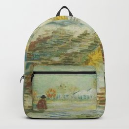 Landscape in Snow Backpack