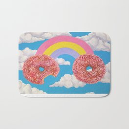Donut Rainbow Bath Mat