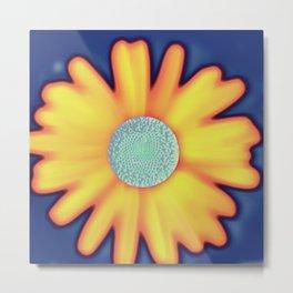Andy  Warhola floral Metal Print