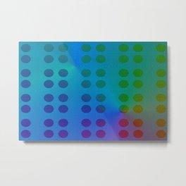 3005 Colorful. patternful 1 Metal Print